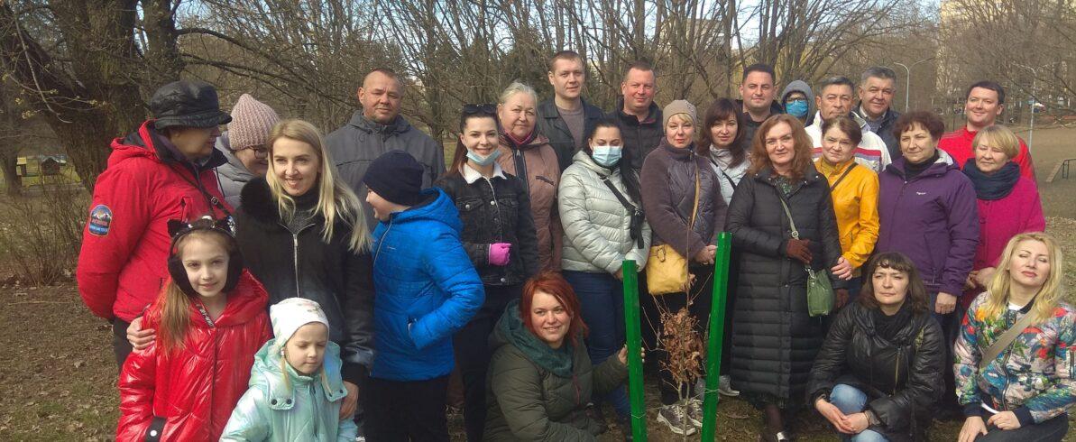 Рівненські «батьківщинівці» активно долучилися до Всесвітнього дня озеленення планети