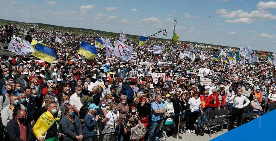 Юлія Тимошенко: Президент знає, що вся країна проти продажу землі, і йде проти волі людей.